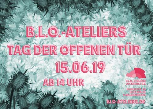 Tag der offenen Tür 2019 in den blo-ateliers