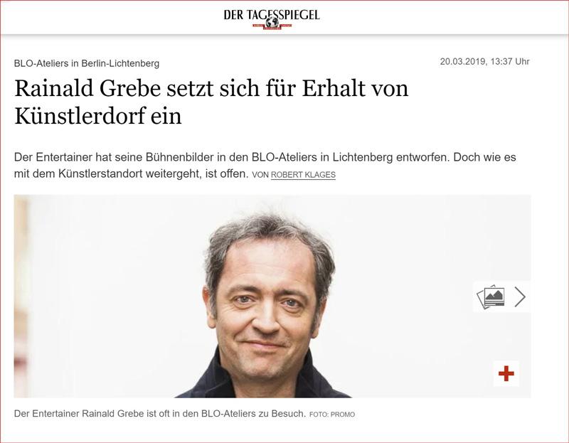 Tagesspiegel-2019-03-20-Rainald-Grebe-Kuenstlerdorf