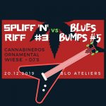 Blues Bumps #5 and Spliff'n Riff #3 at Blo-Ateliers (preview)