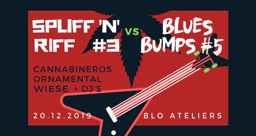 Blues Bumps #5 and Spliff'n Riff #3 at Blo-Ateliers