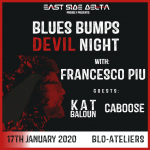 Blues Bumps #6 Devil Night (poster square)