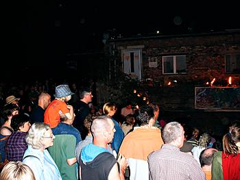 Tag der offenen Tür in den BLO-Ateliers 2008, viele interessierte Gäste
