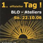 TdoT Blo-Ateliers 2006 - Plakat / Flyer