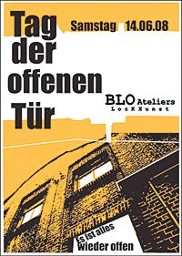 TdoT Blo-Ateliers 2008 - Plakat / Flyer
