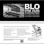 TdoT Blo-Ateliers 2009 - Plakat / Flyer