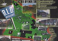 TdoT Blo-Ateliers 2004 - Plakat / Flyer